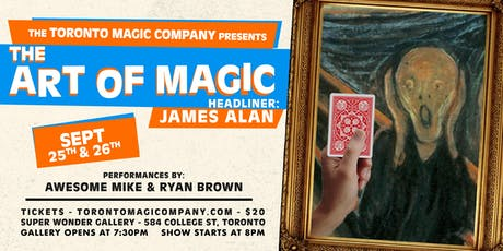 The Art of Magic with headliner James Alan tickets