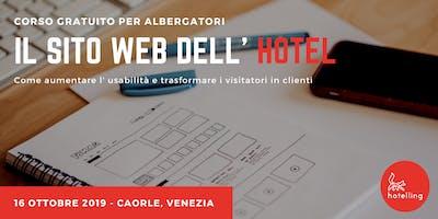 Il sito web dell' hotel : idee per convertire i visitatori in clienti.