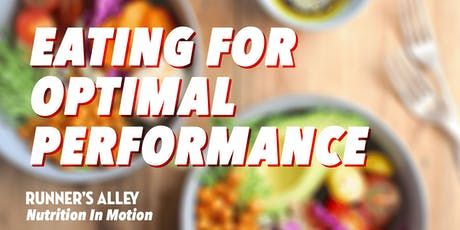 Eating for Optimal Performance tickets