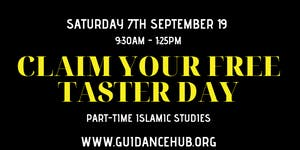 ISNAD Part-time Islamic Studies - Free Taster Session...