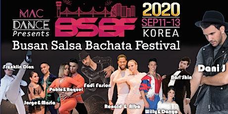 BUSAN SALSA BACHATA FESTIVAL 2020 tickets