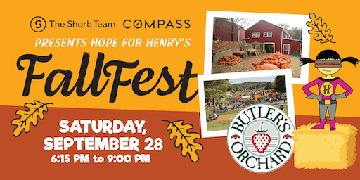 Hope for Henry's First Annual Fall Fest