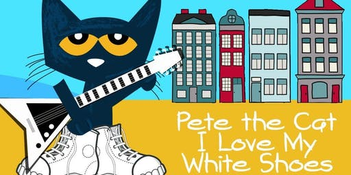 Toddler Tales- Pete I Love My White Shoes