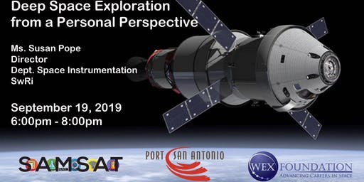 SAMSAT Lecture Series: Deep Space Exploration from a Personal Perspective