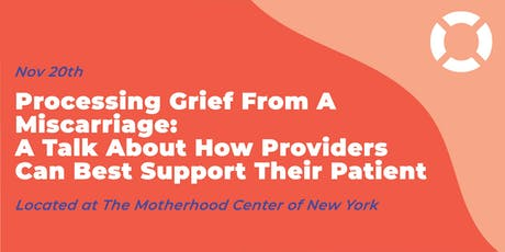 Processing Grief From a Miscarriage tickets