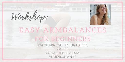 YOGA WORKSHOP: Easy Armbalances for Beginners