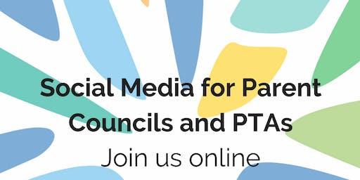 Connect Members Online Social Media for Parent Councils/PTAs 3 December 2019