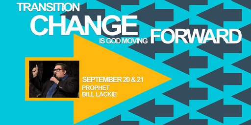 Prophetic Training with Bill Lackie September 20th & 21st