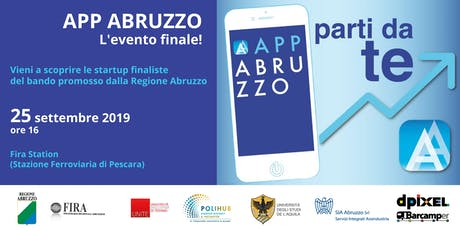 App Abruzzo - L'evento finale biglietti