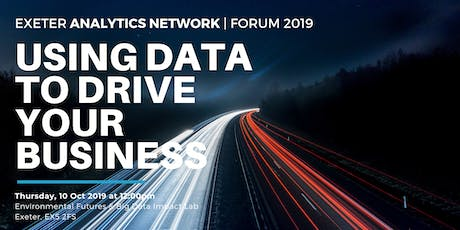 Exeter Analytics Network Conference 2019 tickets