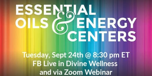 Energy Centers and Essential Oils