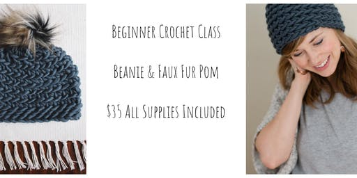 Beginner Crochet Hat Class for Adults