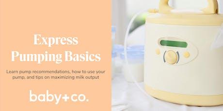 Express Pumping Basics Class  tickets