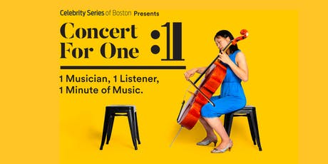 Concert for One: Cambridge tickets