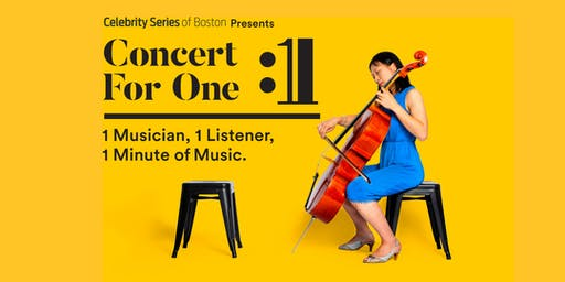 Concert for One: Cambridge