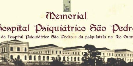 CLUBE LITERÁRIO  DYONÉLIO MACHADO do  HOSPITAL PSIQUIÁTRICO SÃO PEDRO ingressos