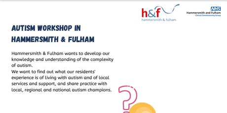 Autism Workshop In Hammersmith and Fulham tickets