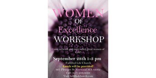 Women of excellence Workshop
