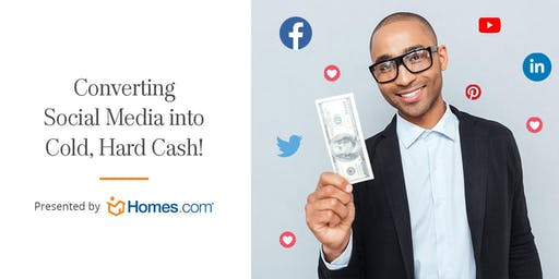 Converting Social Media Into Cold, Hard Cash - Peachtree City, September 17
