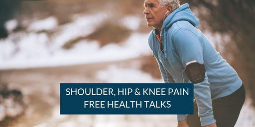 Kings Park Hospital How To Manage Shoulder, Hip and Knee Pain Events
