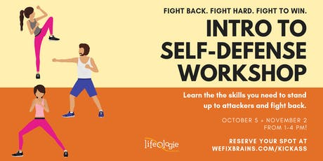 Intro to Self-Defense Workshop tickets