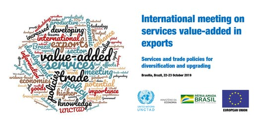 International meeting on services value-added in exports