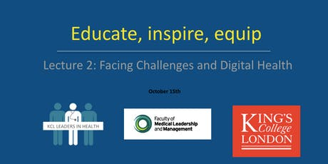 Educate, Inspire, Equip: Session 2 - Facing Challenges and Digital Health tickets
