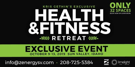 Kris Gethin's Exclusive Health & Fitness Retreat  tickets