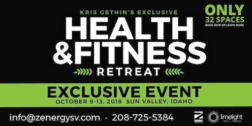 Kris Gethin's Exclusive Health & Fitness Retreat