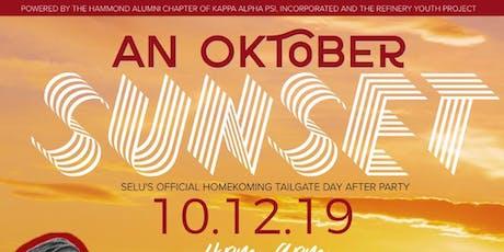An Oktober's Sunset  | SELU Official HomeKoming Ta tickets