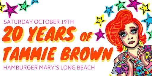 20 YEARS OF TAMMIE BROWN