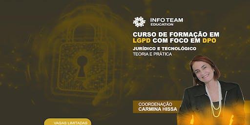 Curso de formação em LGPD com foco em DPO