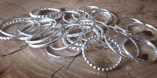 Stacking Ring Jewellery Making Workshop- Morning