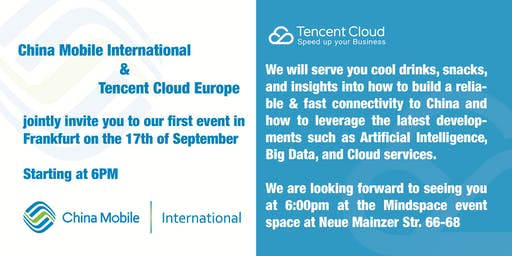 Accelerate your China Strategy with Tencent Cloud and China Mobile