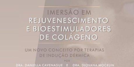 Imersão em Rejuvenescimento e Bioestimuladores de Colágeno ingressos