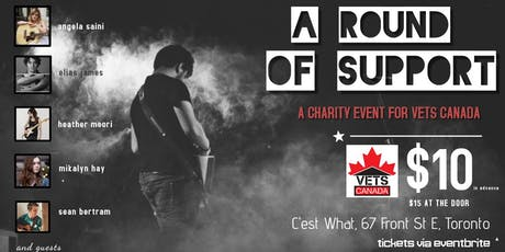VETS Canada: A Round of Support! tickets