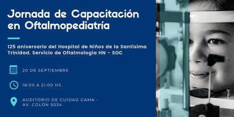 Jornada de Capacitación en Oftalmopediatria. HN - SOC entradas
