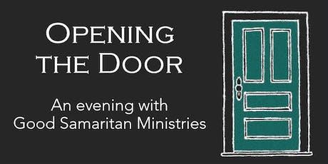 Opening the Door - An evening with Good Samaritan Ministries tickets