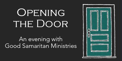 Opening the Door - An evening with Good Samaritan Ministries