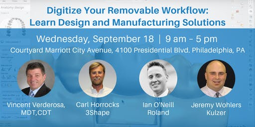 Digitize Your Removable Workflow: Learn Design and Manufacturing Solutions
