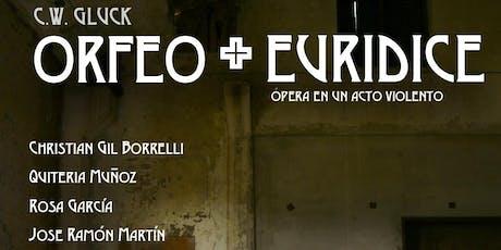 Orfeo + Euridice entradas