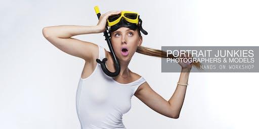 Portrait Junkies September 28th Photographers & Models Meetup