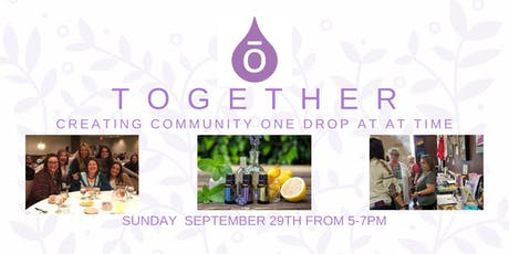 TOGETHER: Creating Community one drop at a time tickets