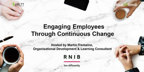 HRLTT - Engaging Employees Through Continuous Change tickets