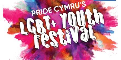 Pride Cymru's LGBT+ Youth Festival tickets