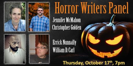 Horror Writers Panel tickets