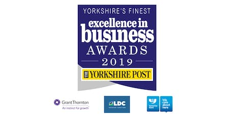 The Yorkshire Post Excellence in Business Awards 2019 tickets