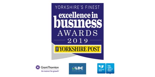 The Yorkshire Post Excellence in Business Awards 2019