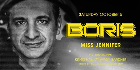 Boris at Kings Hall - Avant Gardner tickets