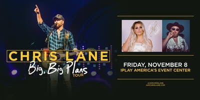 Chris Lane: Big Big Plans Tour